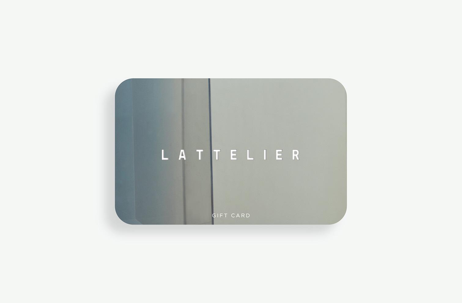 Latt gift card-100