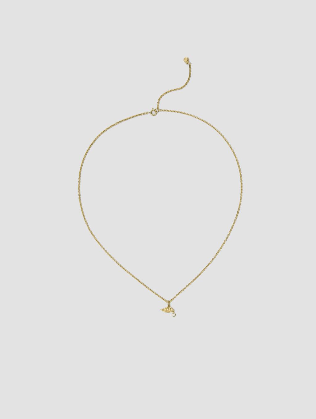 Diamond Devil's Eye Necklace4